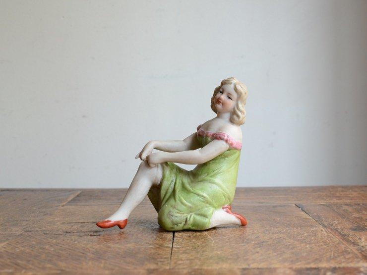 女性モチーフ 陶器オブジェ