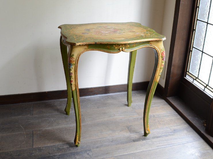 ヴィンテージ 木製サイドテーブル