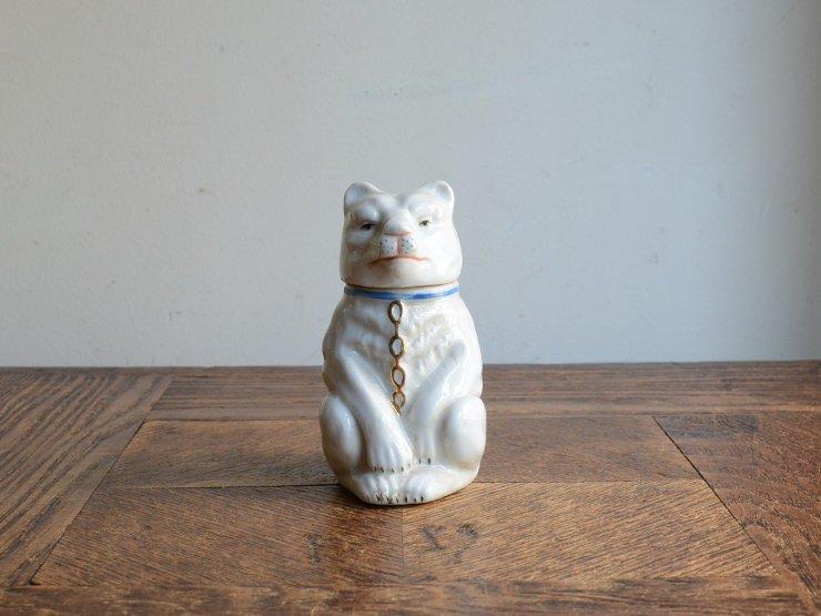 犬さん陶器ポット オブジェ