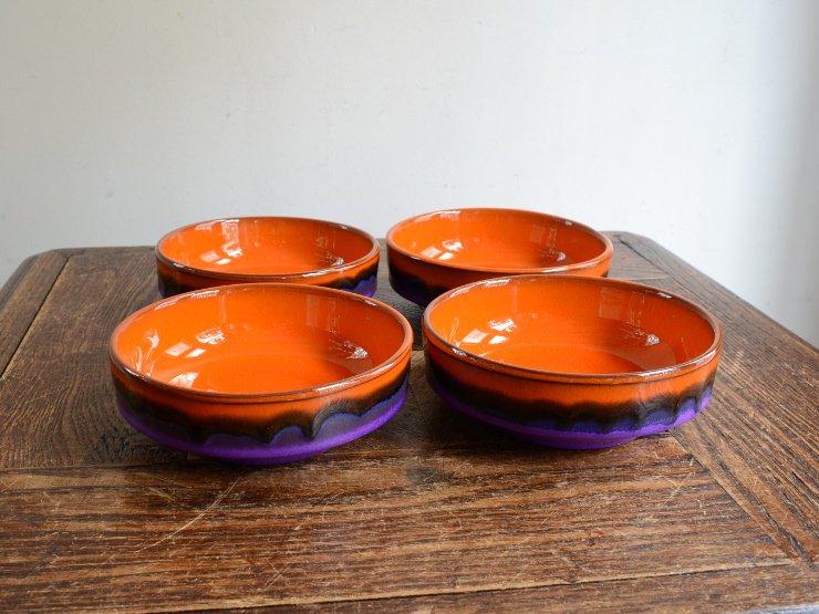 ヴィンテージ 陶器プレートセット