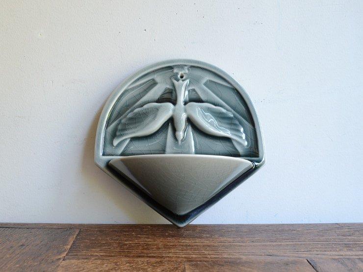 [new] アンティーク 陶器ウォールデコレ...