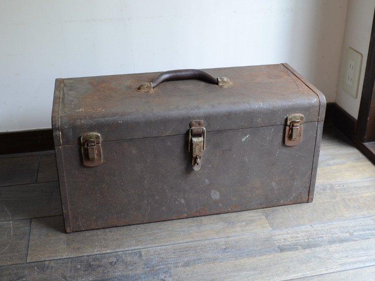 アンティーク Kennedy メタルツールボックス