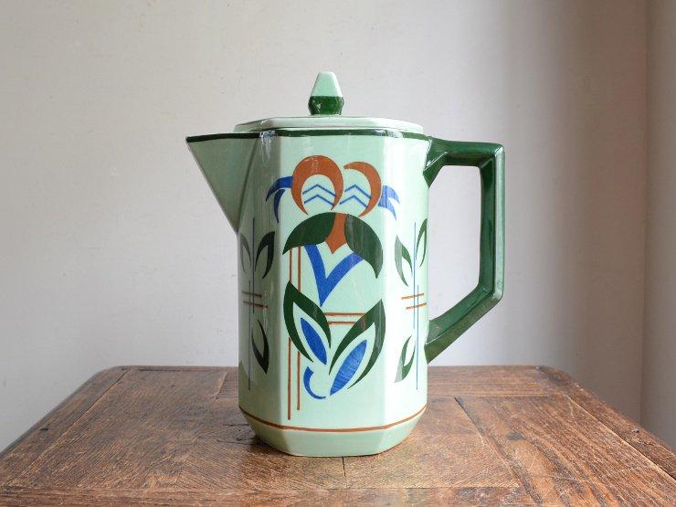 ヴィンテージ陶器ポット