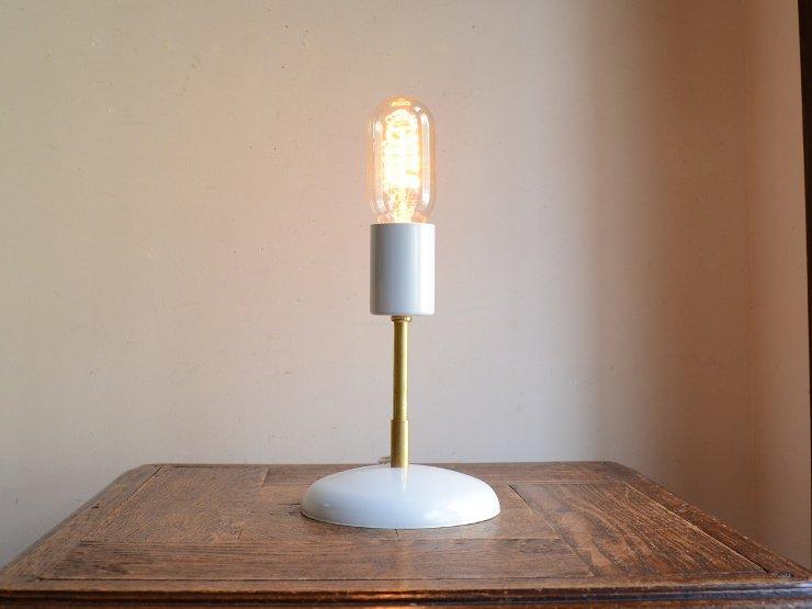 メタルテーブルランプ(ホワイト)