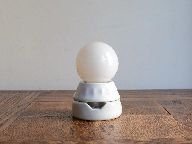 陶器ソケットランプ (シーリングライト)