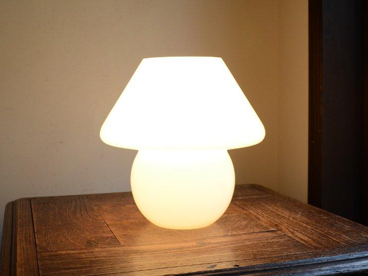 ヴィンテージ マッシュルーム型 テーブルランプ(H20cm)A