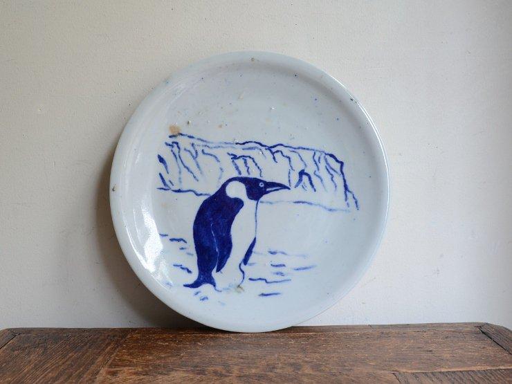 ヴィンテージ ペンギン絵柄 プレート
