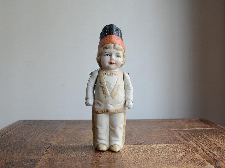 [new] 陶器ドール オブジェ