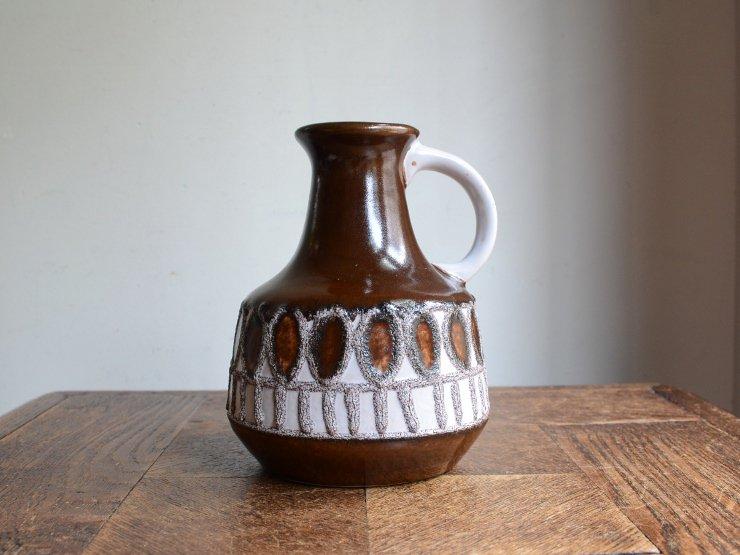 ヴィンテージ 陶器フラワーベース A