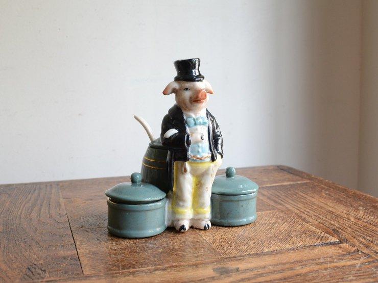 ブタさん陶器ポット