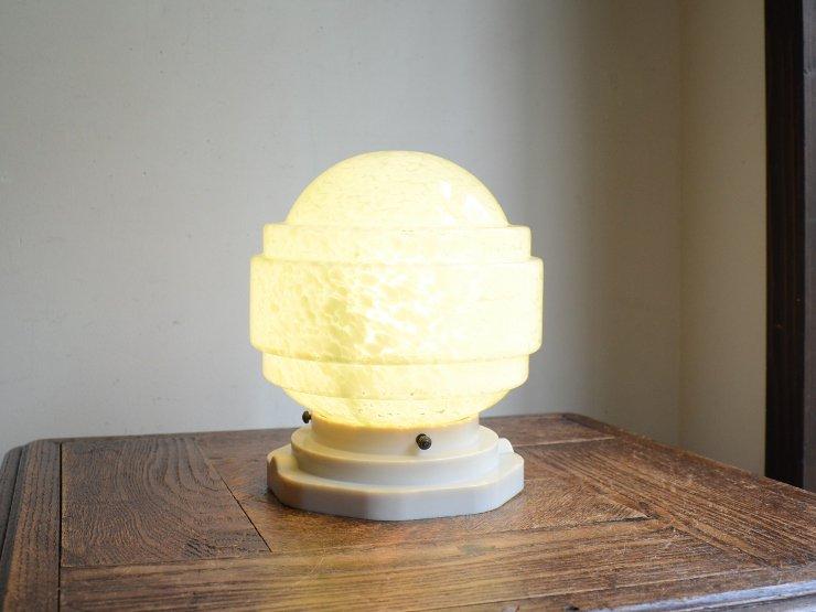 アンティーク マーブルガラス ライト