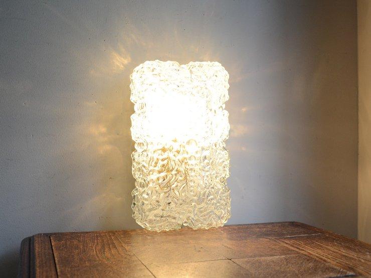 [new] ヴィンテージ デザインクリアガラス ライト