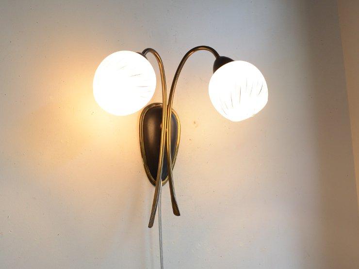 [new] ヴィンテージ デザイン 2灯ウォールランプ
