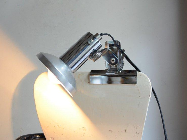 ヴィンテージ メタルクリップライト
