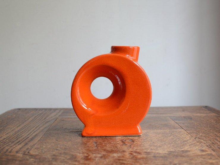 [new] ヴィンテージ 陶器フラワーベース