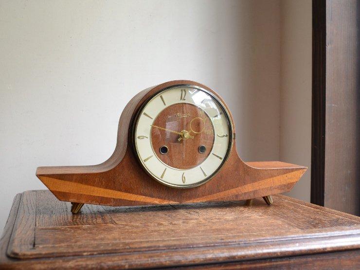 ヴィンテージ 木製テーブルクロック(置時計)