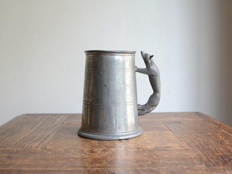 アンティーク ピューターカップ(フラワーベース)