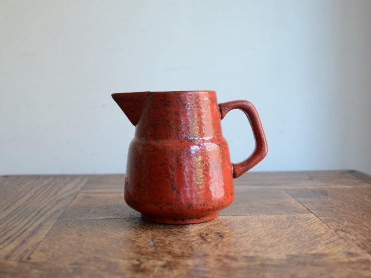 [new] ヴィンテージ 陶器クリーマー(フラワーベース)