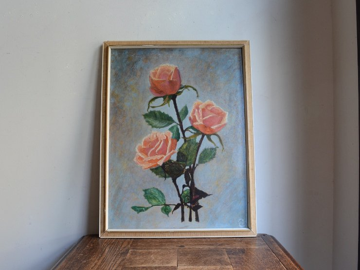 [new] 木製フレーム ウォールデコレーション (絵画)