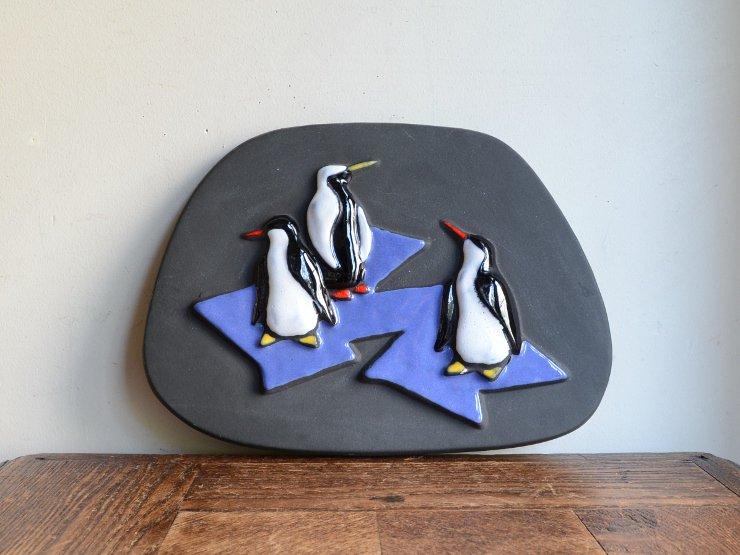 [new] ヴィンテージ ペンギンモチーフ陶器オブジェ
