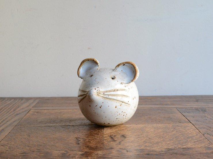 [new] ヴィンテージ ネズミ陶器オブジェ