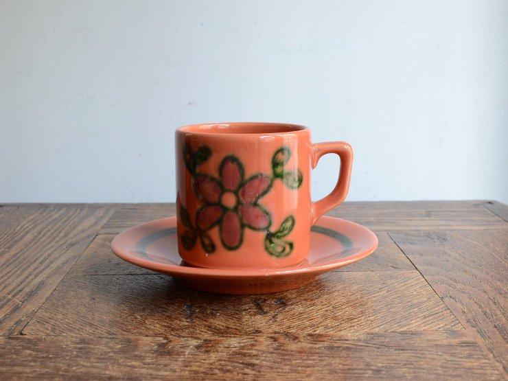 ヴィンテージ陶器 カップ&ソーサー