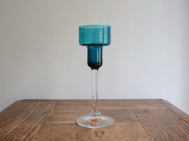 ヴィンテージ グラス (フラワーベース)