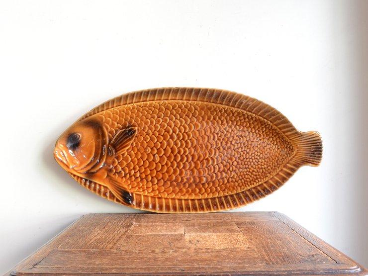 ヴィンテージ お魚モチーフプレート