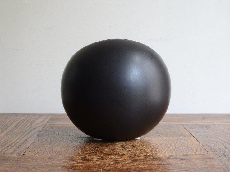 [new] ヴィンテージ 陶器フラワーベース(H11.5cm)