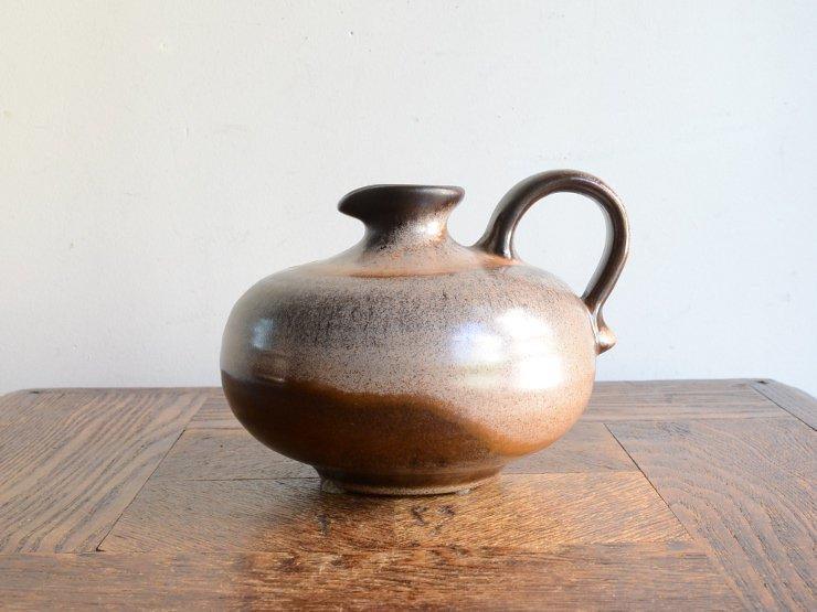 [new] ヴィンテージ 陶器フラワーベース(H11cm)