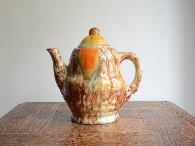 [new] ヴィンテージ 陶器ポット