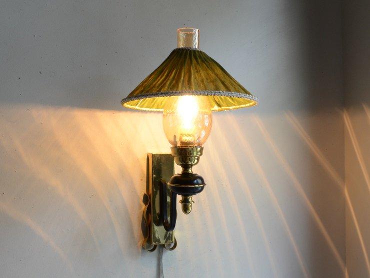 [new] ヴィンテージ オイルランプ型 ウォールランプ