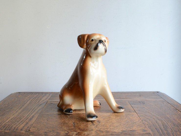 [new] ヴィンテージ 犬モチーフ 陶器オブジェ