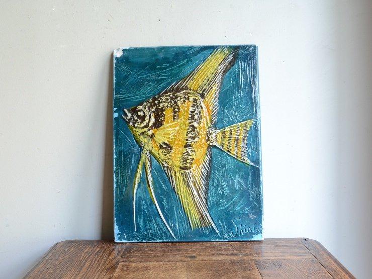 [new] ヴィンテージ 熱帯魚 ウォールデコレーション
