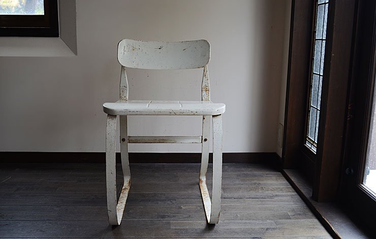 40〜50's メタルチェア(Ironrite Health Chair)