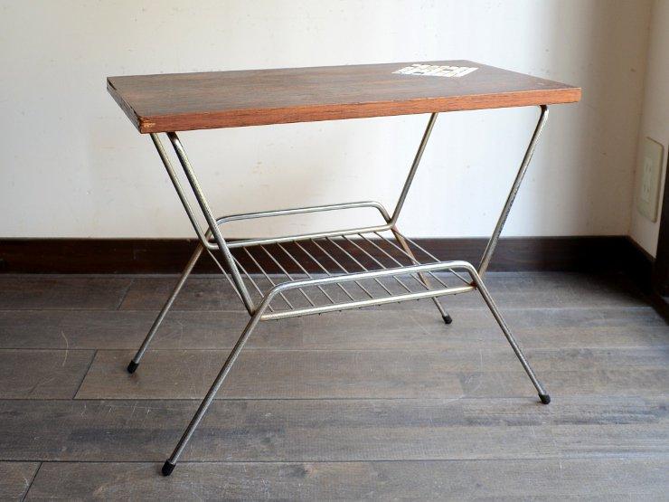 ヴィンテージ デザイン ラック付きテーブル