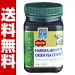 マヌカハニー  MGO 250+ (UMF16+相当) 緑茶抽出成分配合 500g