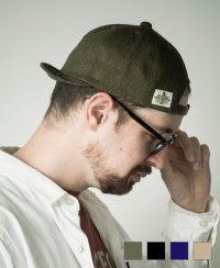 《Mighty Shine》BRIDGE CAP-TWILL(MSC-003-TWILL)ブリッジキャップ-ツイル