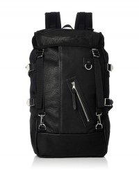 《DECADE》Oiled Leather x Cordura Nylon Back Pack(No-01130S)【送料無料】