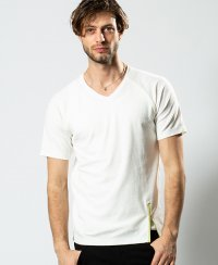 <img class='new_mark_img1' src='https://img.shop-pro.jp/img/new/icons8.gif' style='border:none;display:inline;margin:0px;padding:0px;width:auto;' />《wjk》raglan V-neck T(7894lj96)【送料無料】