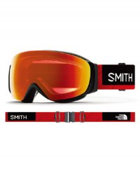 《SMITH》I/O MAG™ S SMITH x THE NORTH FACE / Red(調光モデル)【送料無料】