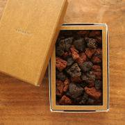 【箱ジオ】鑑賞してから食べるジオガシ 富士山スコリア焼チョコ