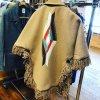 【ORTEGA'S/オルテガ】クラシックチマヨラグ・ポンチョ<ベージュ> レディースS(日本の女性服サイズのS〜M相当) 19F33
