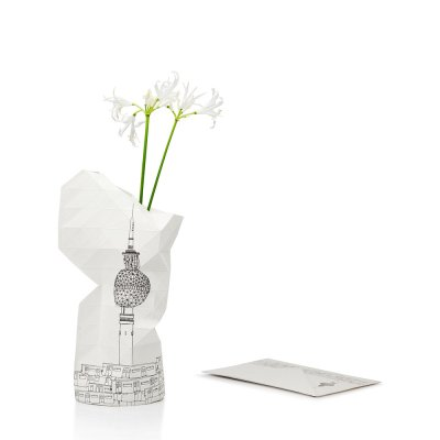 Tiny Miracles (タイニーミラクルズ) Paper Vase Cover City Edition - Berlin
