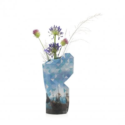 Paper Vase Cover Battle of Gibraltar