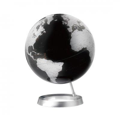 アトモスフィア 地球儀 ビジョン メタリックブラック 【イタリア製】
