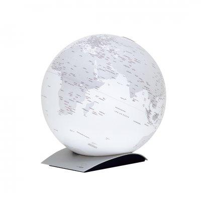 アトモスフィア 地球儀 キャピタルキュー マットホワイト 【イタリア製】