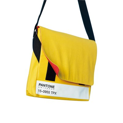 PANTONE MESSENGER BAG (Mustard)