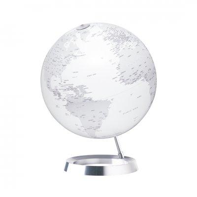 アトモスフィア 地球儀 ビジョン マットホワイト 【イタリア製】