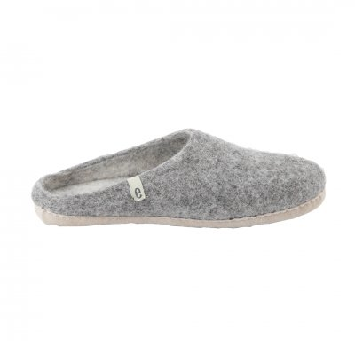 egos (イゴス) Slipper Natural Gray (L:25-27cm)
